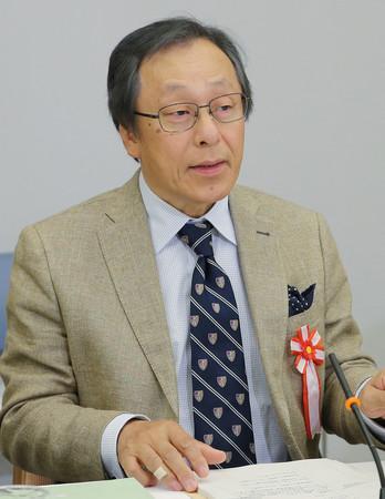 山内弘隆氏=2017年6月撮影