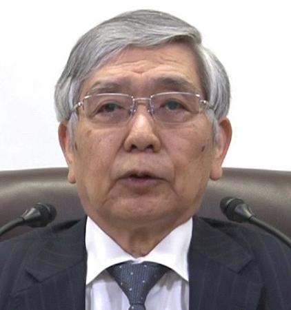 黒田東彦 日銀総裁