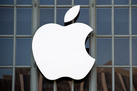 米アップルのロゴマーク(AFP時事)